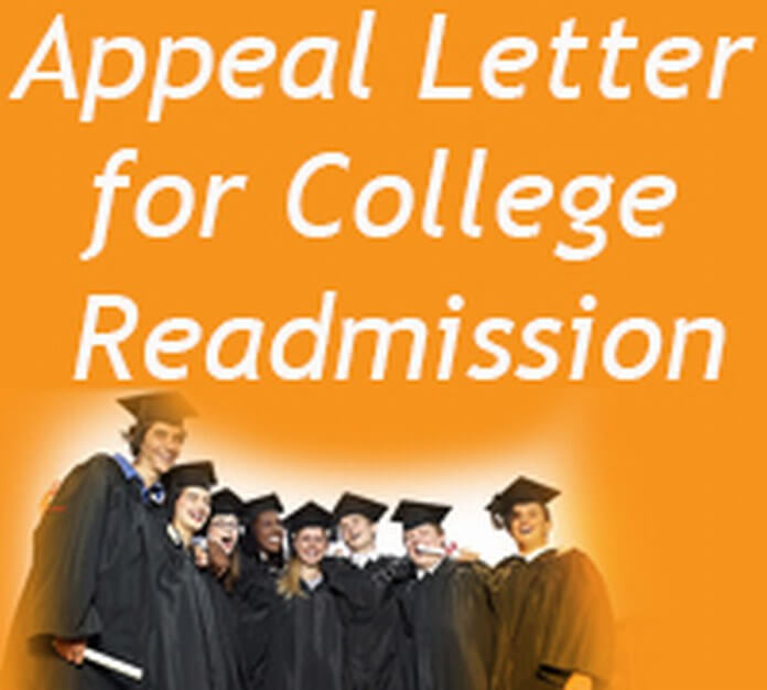 College Readmission Appeal Letter