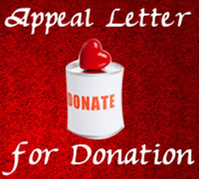 Appeal Letter for Donation