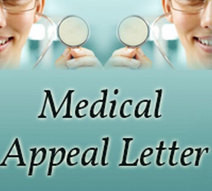 Medical Appeal Letter Format