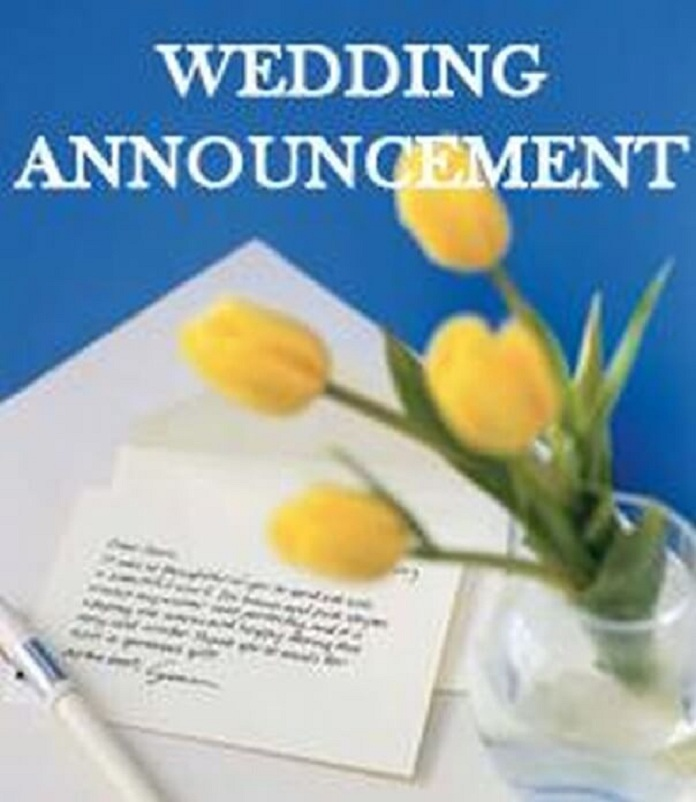 Wedding Announcement Letters