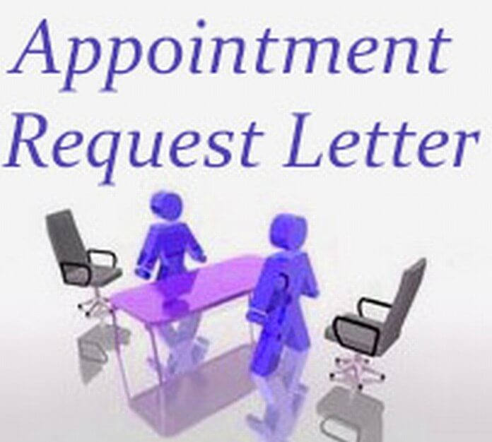 Appointment Request Letter