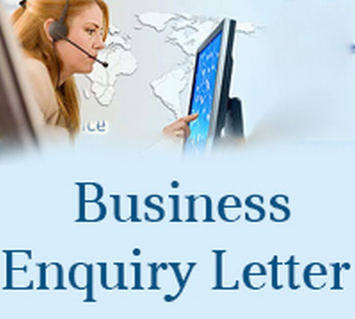 Sample Business Enquiry Letter