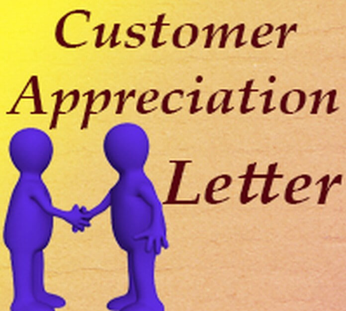 Appreciation Letter for Customer