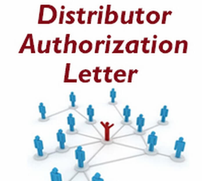 Distributor authorization letter free letters spiritdancerdesigns Image collections