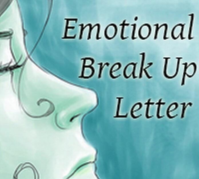Emotional Break up Letter Format