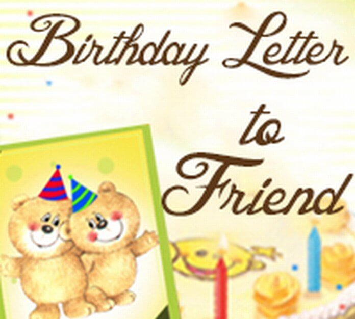 Birthday Letter to Friend