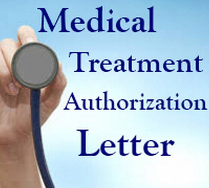 Medical Treatment Authorization Letter