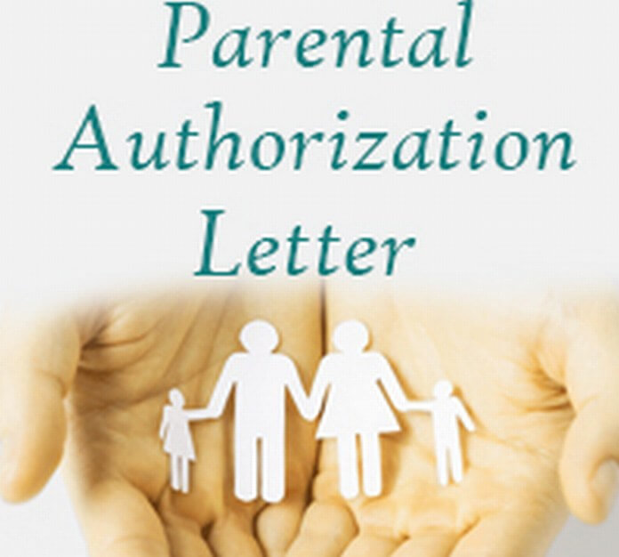 Parental Authorization Letter Sample