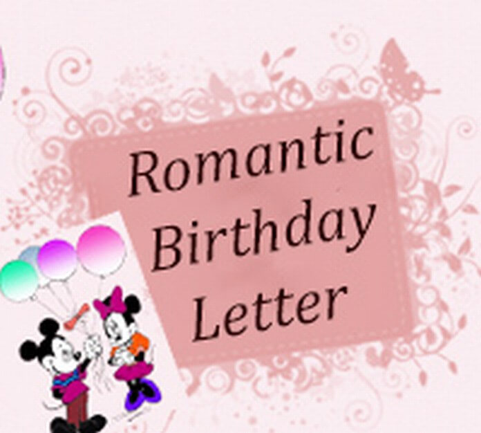 Best Romantic Birthday Letter