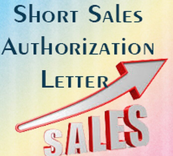 Authorization letter free letters part 2 for Short sale marketing letter