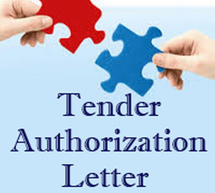 Tender Authorization Letter