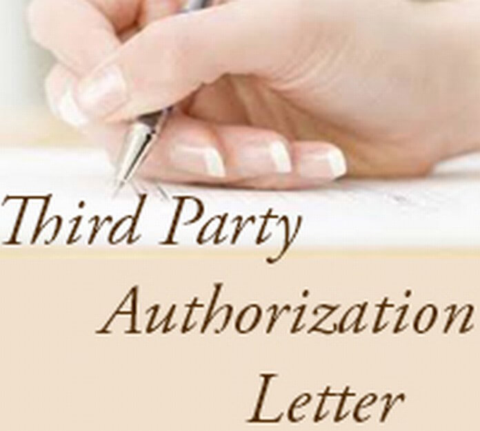 Permission to Party Download PDF Books for Free – Sample Third Party Authorization Letter