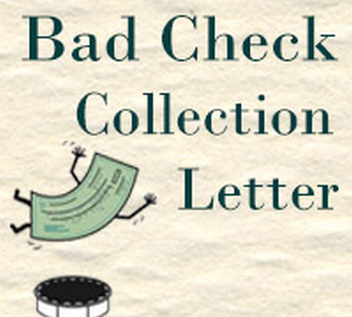 Bad Check Collection Letter