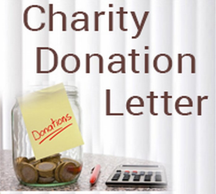 Charity Donation Letter sample