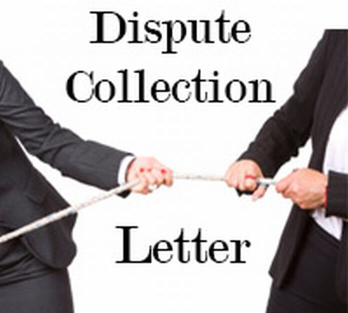 Dispute Collection Letter