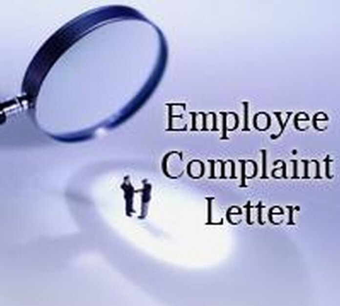 Employee Complaint Letter sample