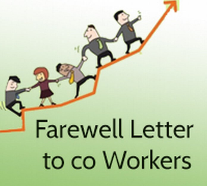 Farewell Letter to Coworkers