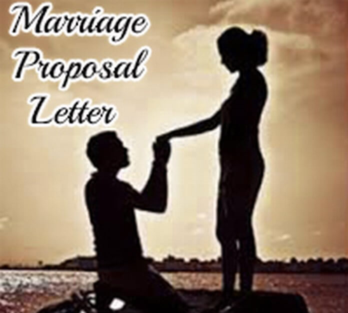 Marriage Proposal Letter