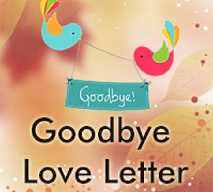 best Goodbye Love Letter