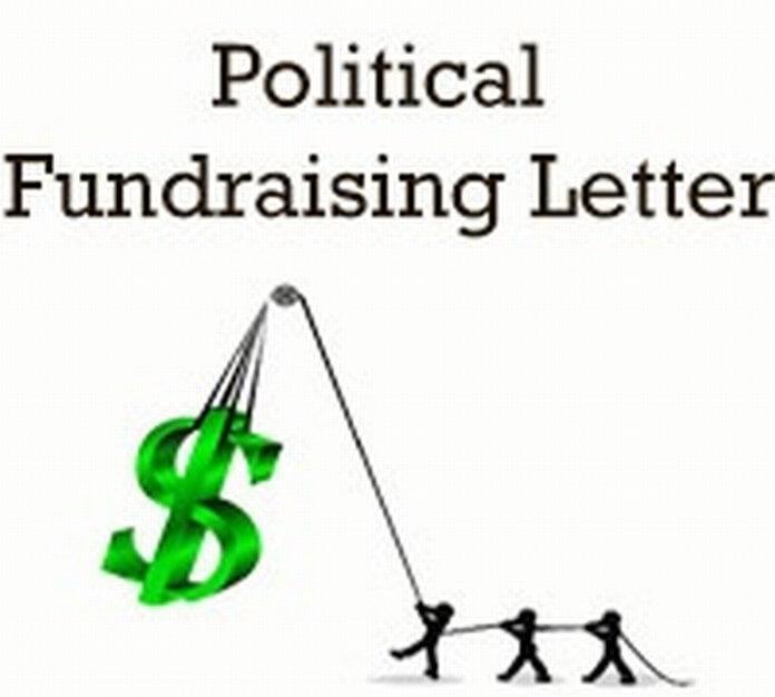 Political Fundraising Letter format