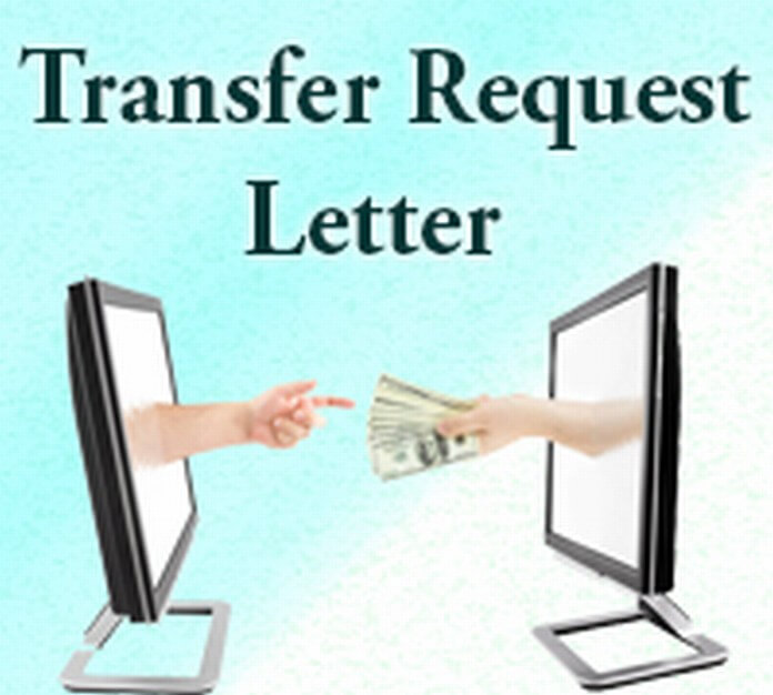 Transfer Request Letter  Free Letters