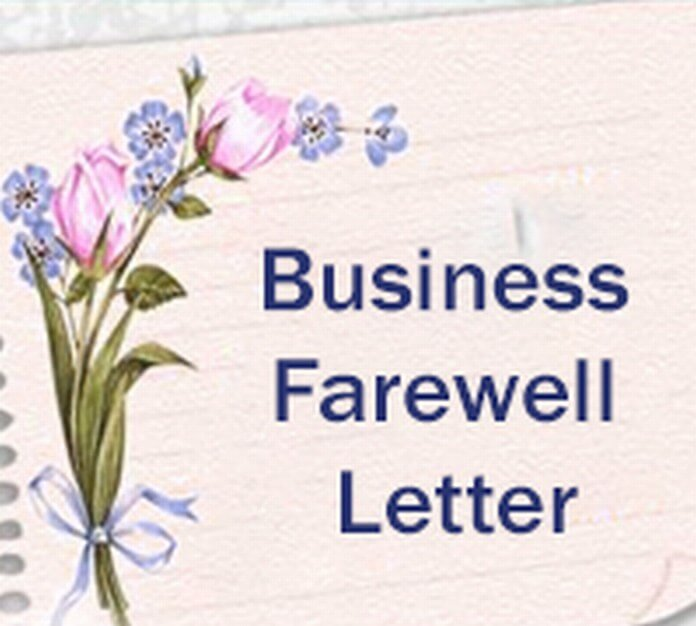 Business Farewell Letter