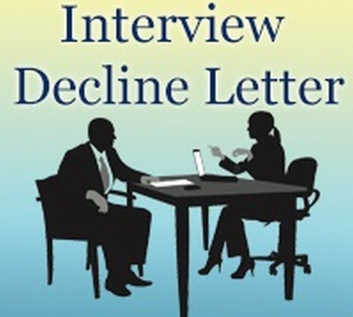Interview Decline Letter