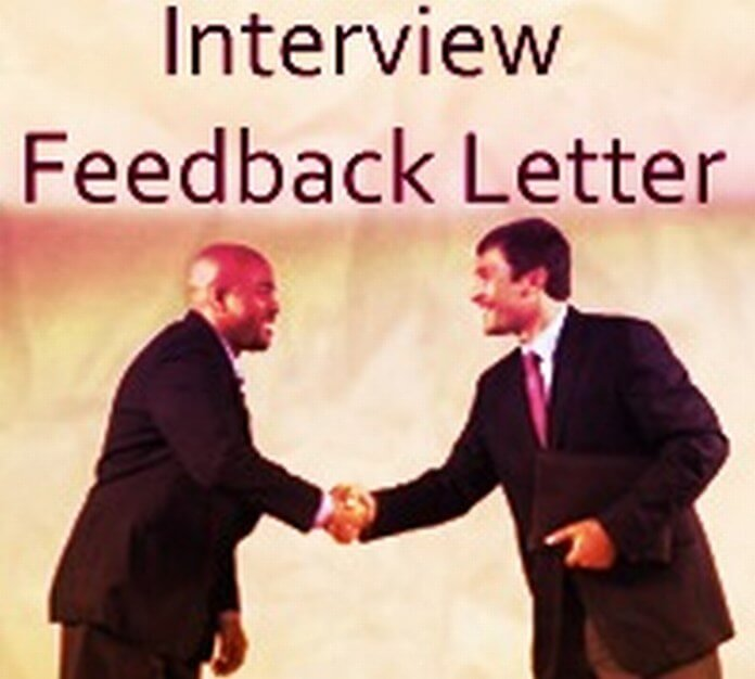 Interview Feedback Letter