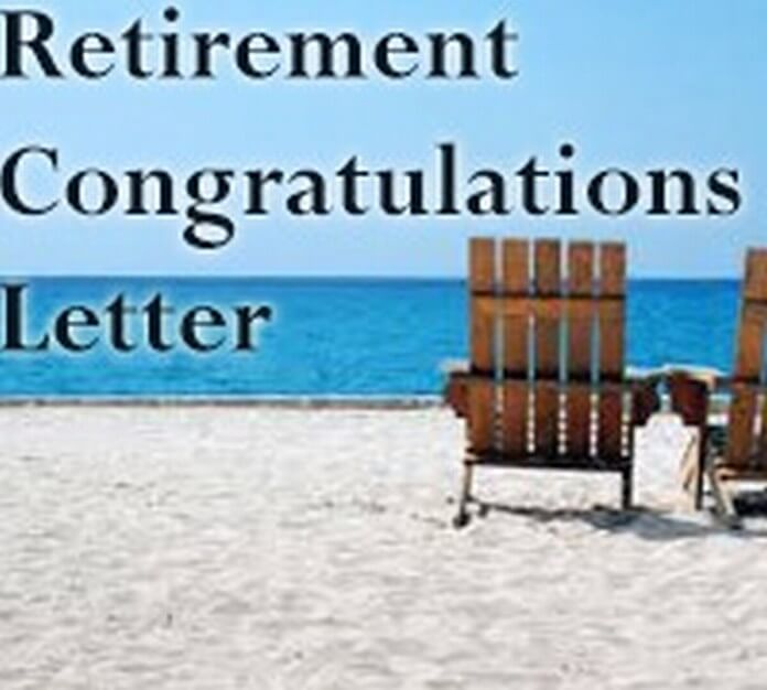 Retirement Congratulation Letter