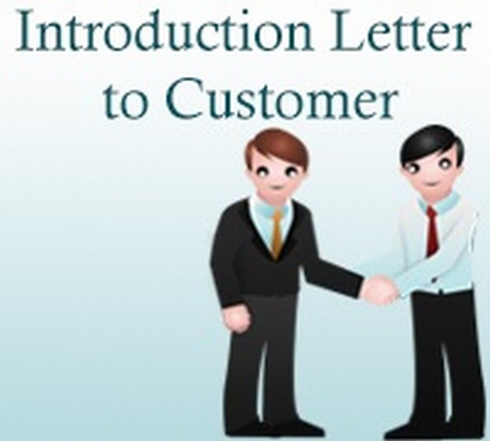 Introduction Letter To Customer