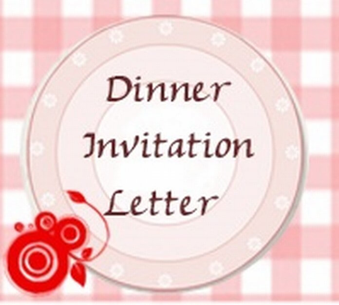 Sample Dinner Invitation Letter