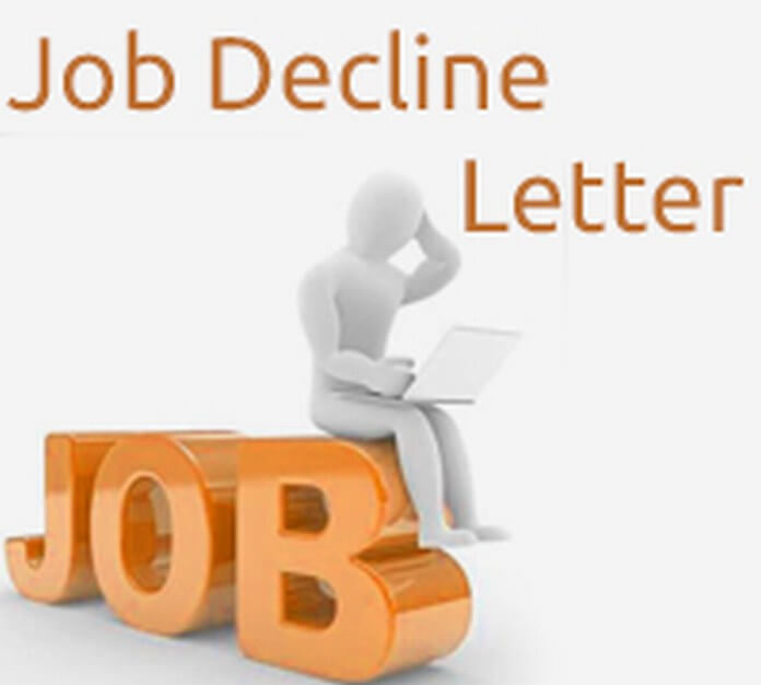 Job Decline Letter
