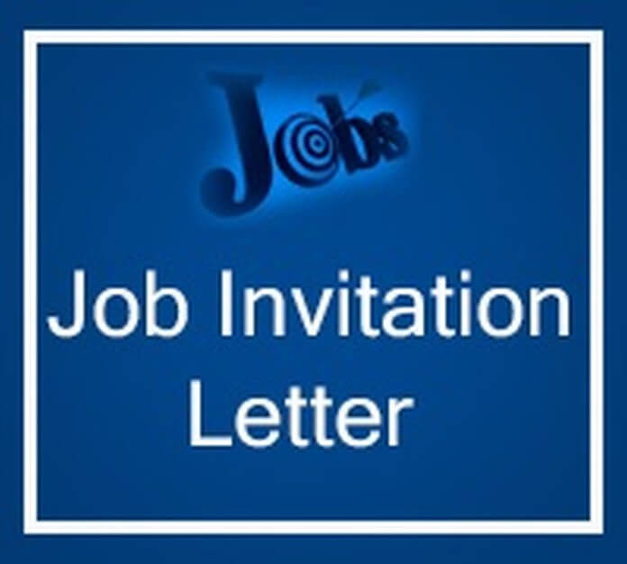 Job Invitation Letter