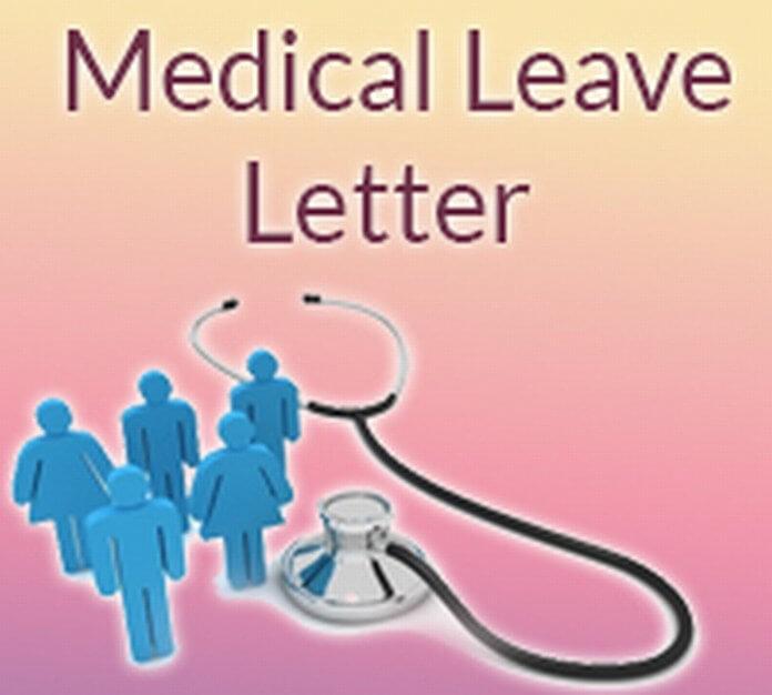 Medical Leave Letter