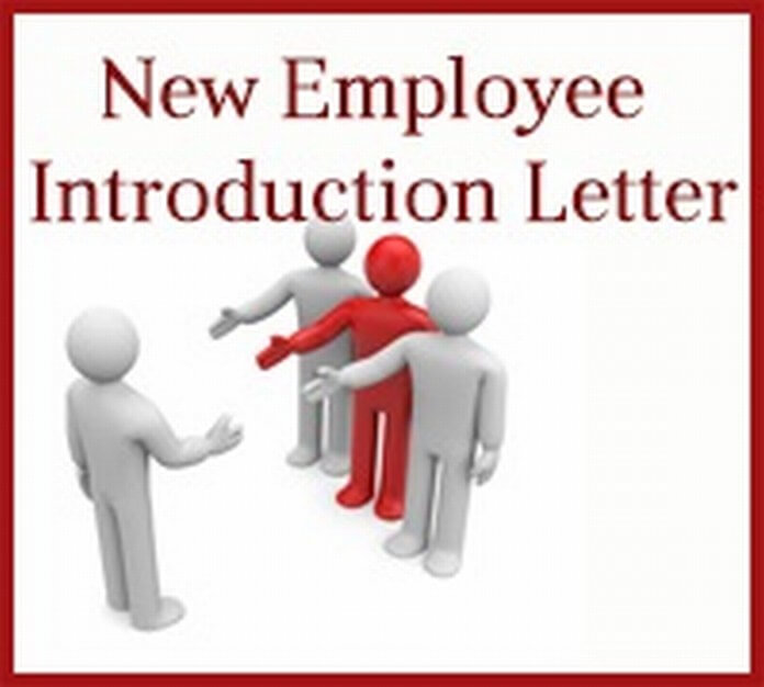New Employee Introduction Letter Free Letters