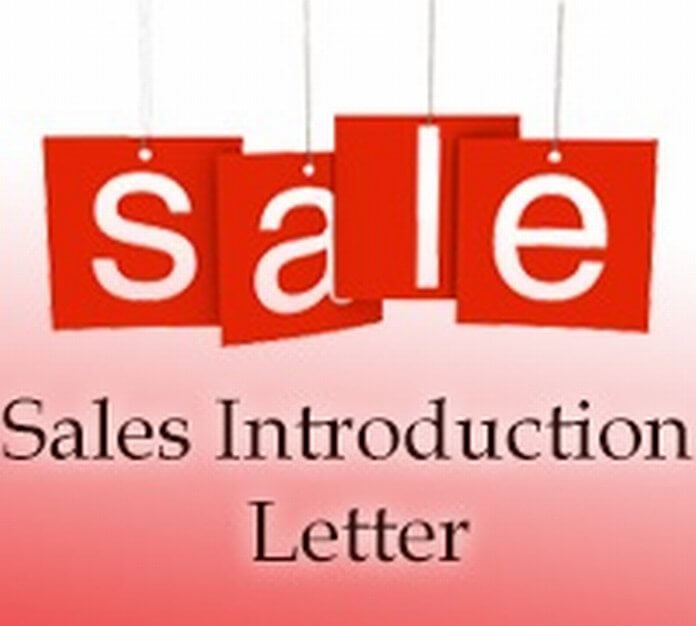 Sales Introduction Letter example