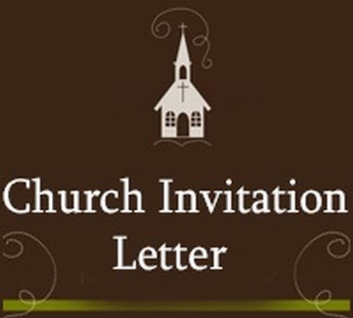 church welcome letter