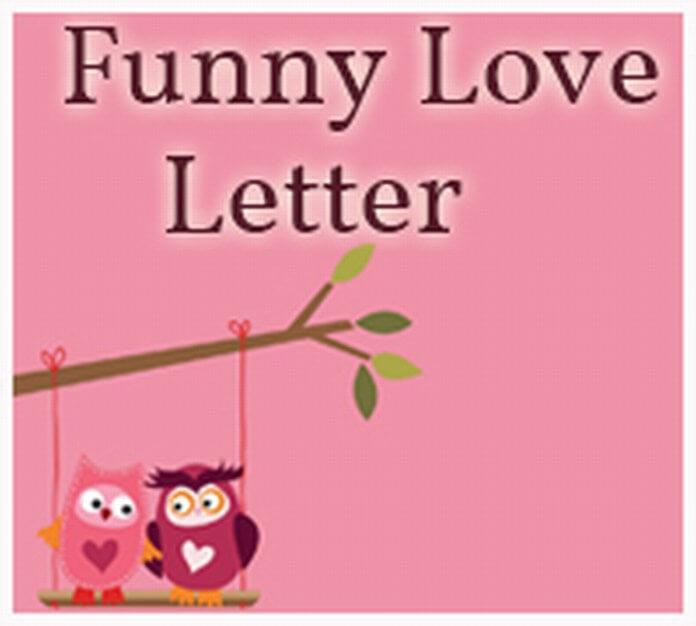 Funny Love Letter