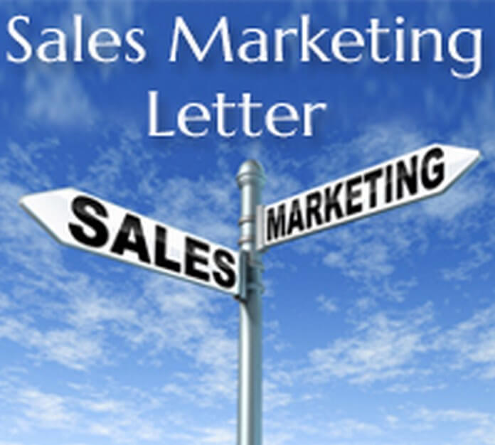 Sales Marketing Letter