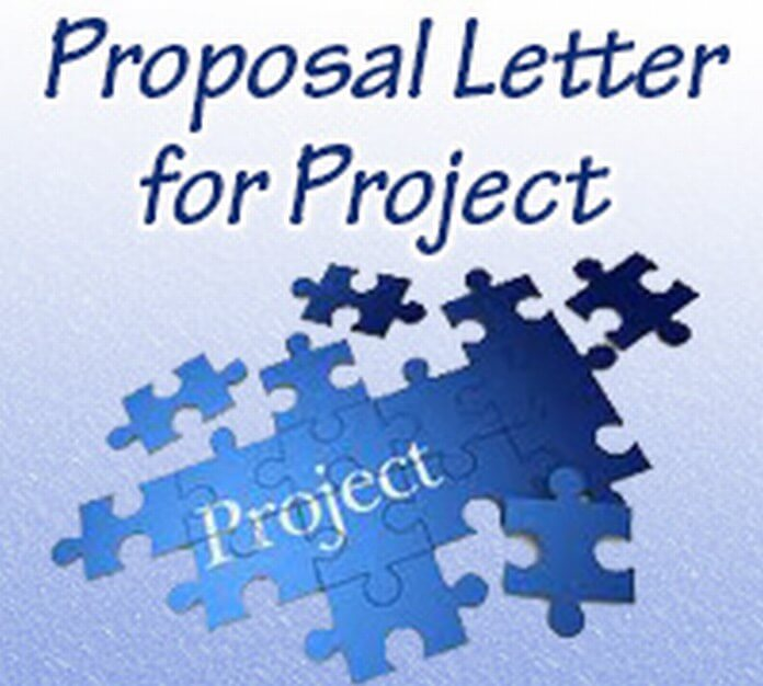 Proposal Letter for Project