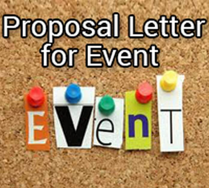 Proposal Letter for Event