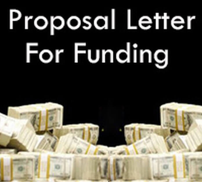 Proposal Letter For Funding