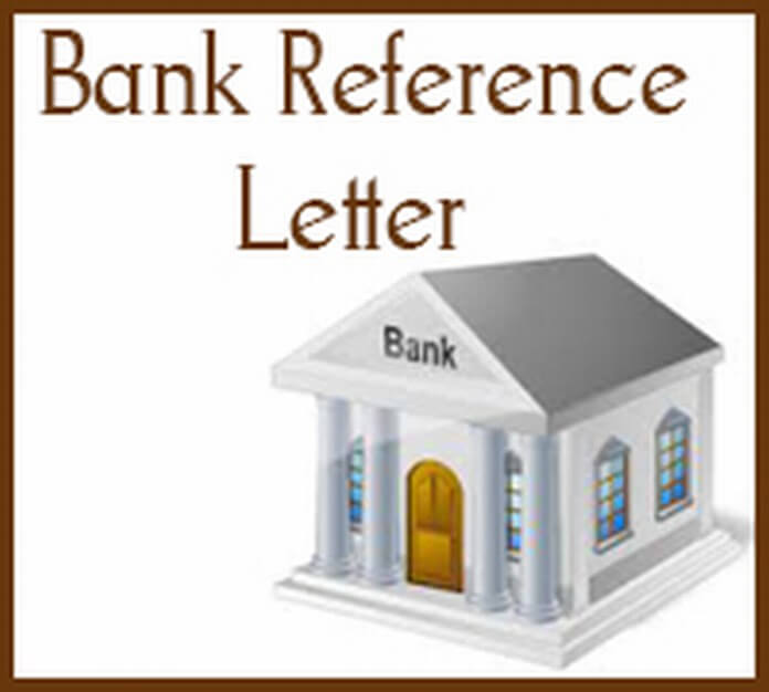 Bank Reference Letter
