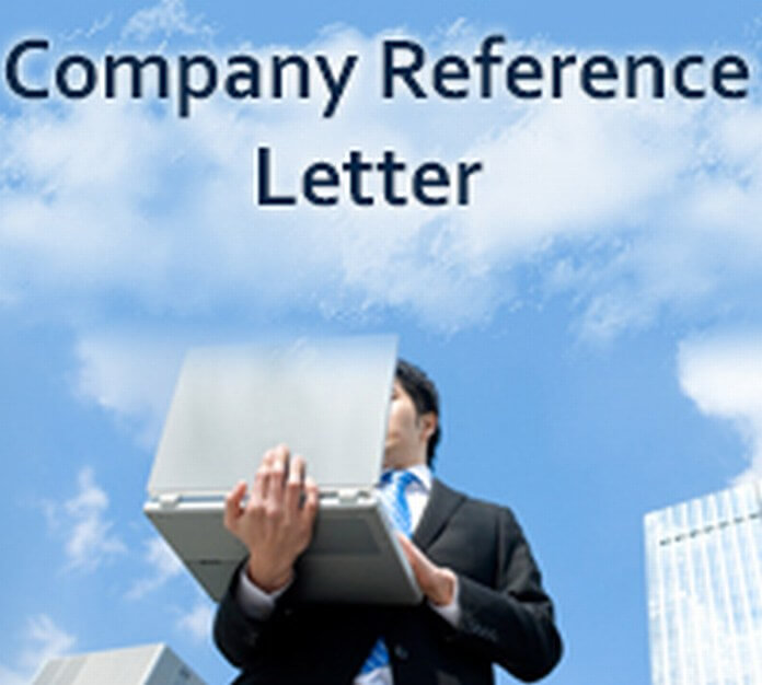 Company Reference Letter