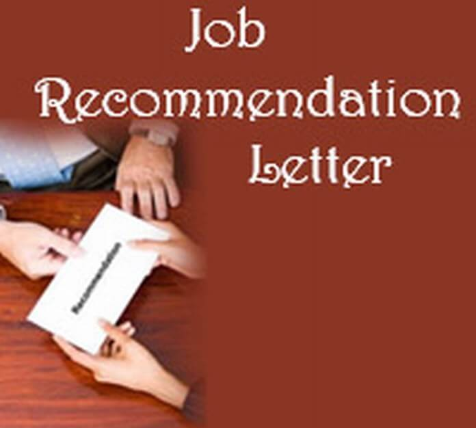 Job Recommendation Letter