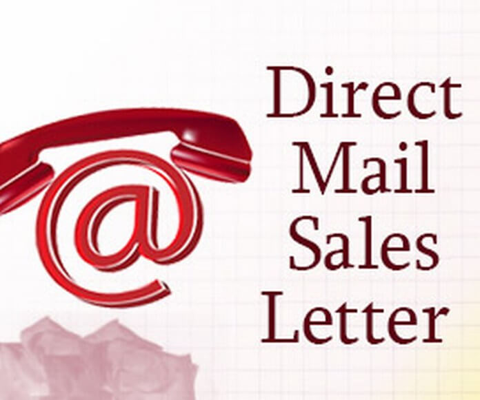 Direct Mail Sales Letter