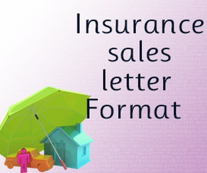 Insurance Sales Letter