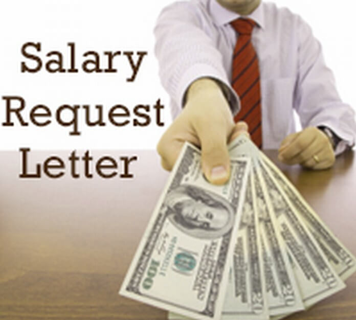 Salary Request Letter