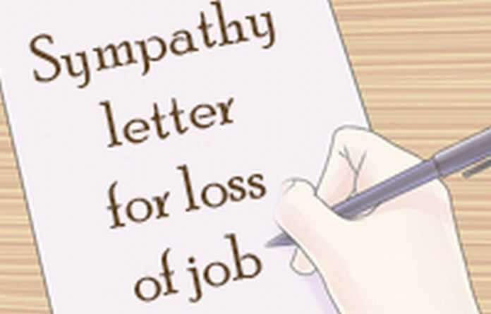 Sympathy Letter for Loss of Job