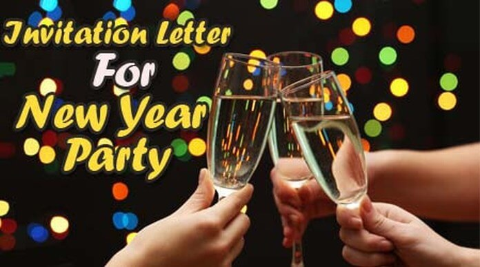 Invitation Letter For New Year Party